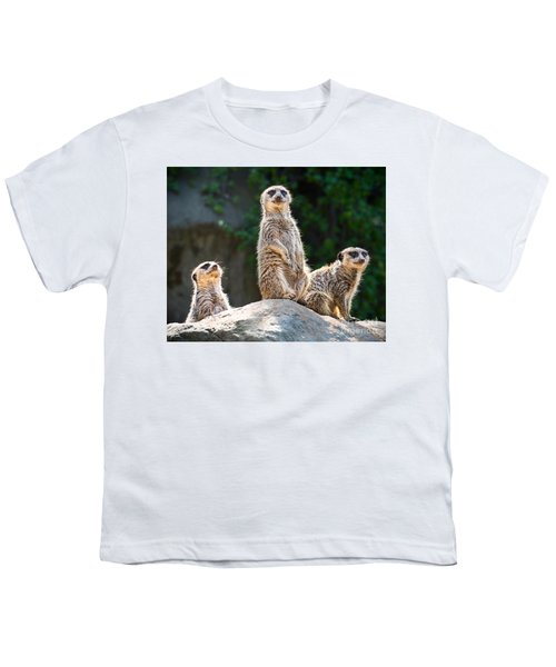 Three's Company Youth T-Shirt by Jamie Pham