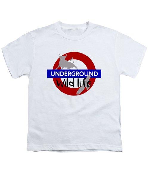 Underground.2 Youth T-Shirt by Alberto RuiZ