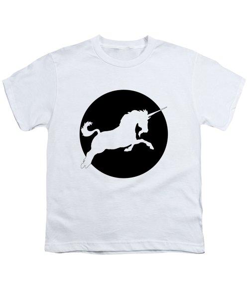Unicorn Youth T-Shirt by Mordax Furittus