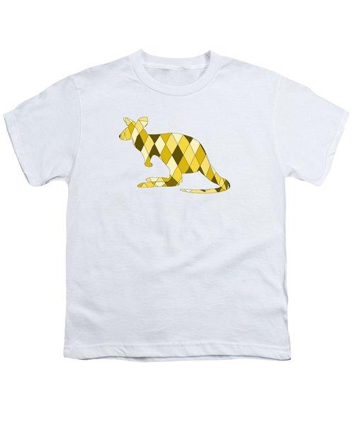 Kangaroo Youth T-Shirt by Mordax Furittus