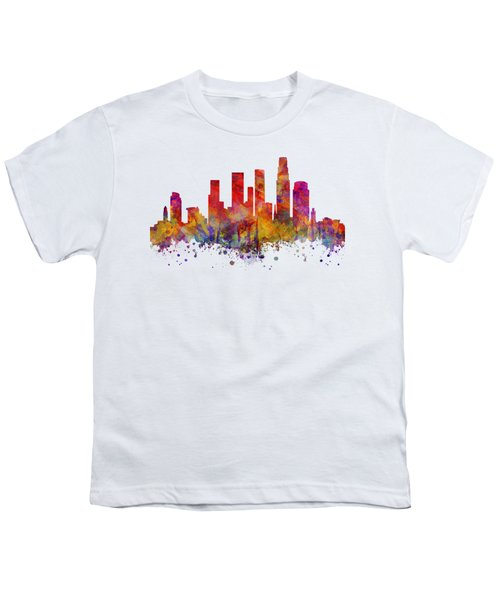 Los Angeles  Youth T-Shirt by JW Digital Art