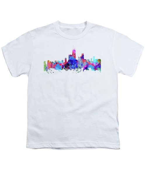 Chicago  Youth T-Shirt by JW Digital Art