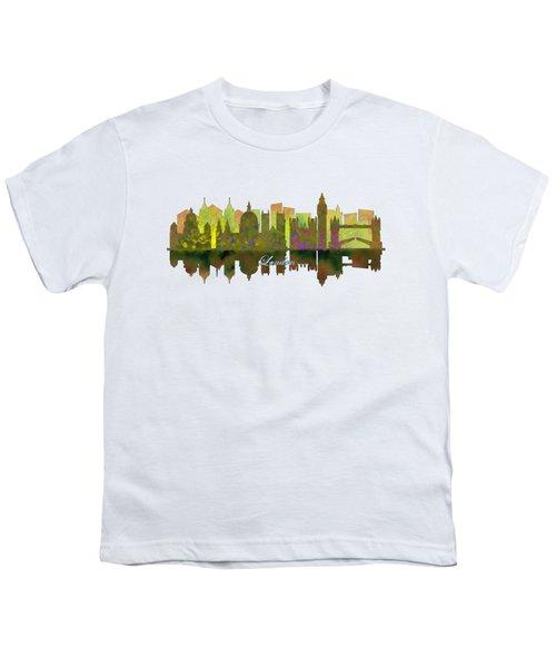 London England Skyline Youth T-Shirt by John Groves
