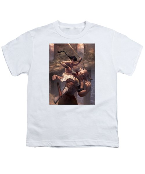 Above The Labyrinth  Youth T-Shirt by Ethan Harris