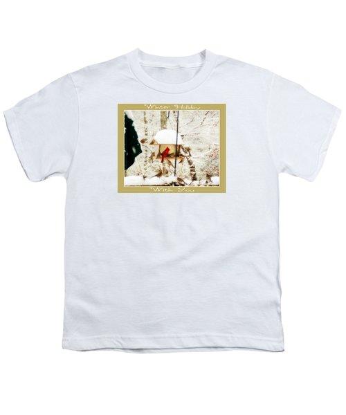 Winter Holiday Youth T-Shirt by Anita Faye