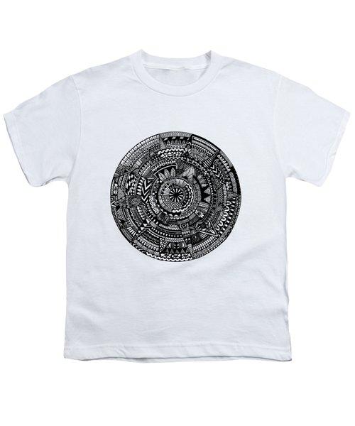 Asymmetry Youth T-Shirt by Elizabeth Davis