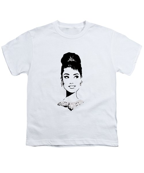 Audrey Youth T-Shirt by Rene Flores