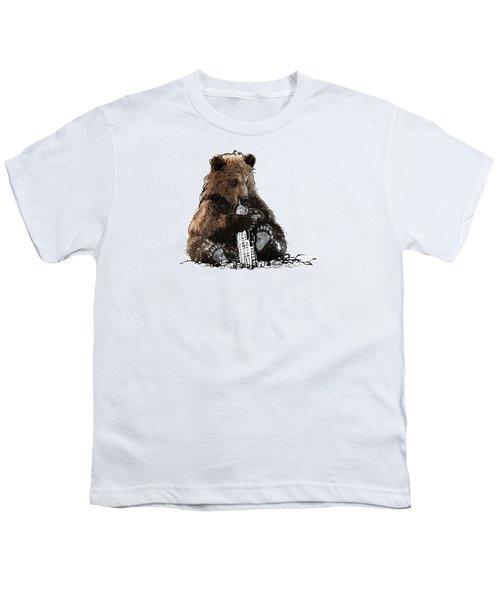 Bear Loves Ny Youth T-Shirt by Devlin