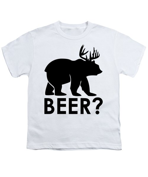 Beer? Youth T-Shirt by Frederick Holiday