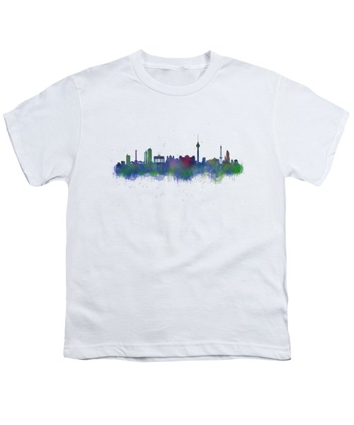 Berlin City Skyline Hq 2 Youth T-Shirt by HQ Photo