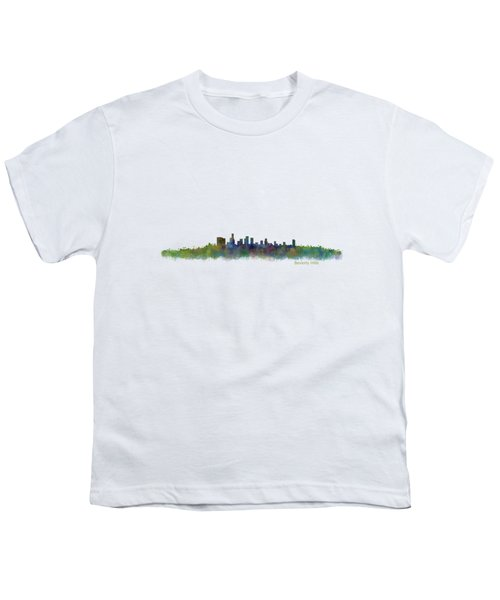 Beverly Hills City In La City Skyline Hq V2 Youth T-Shirt by HQ Photo
