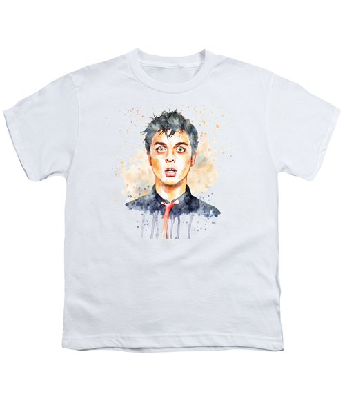 Billie Joe Armstrong Youth T-Shirt by Marian Voicu