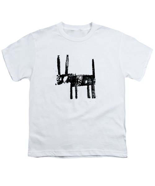 Black Youth T-Shirt by H James Hoff