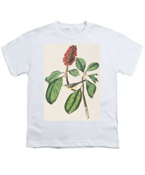 Bonaparte's Flycatcher Youth T-Shirt by John James Audubon