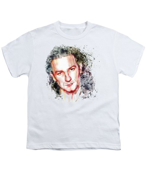 Bono Vox Youth T-Shirt by Marian Voicu