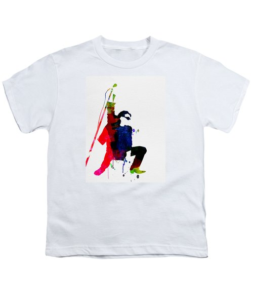 Bono Watercolor Youth T-Shirt by Naxart Studio