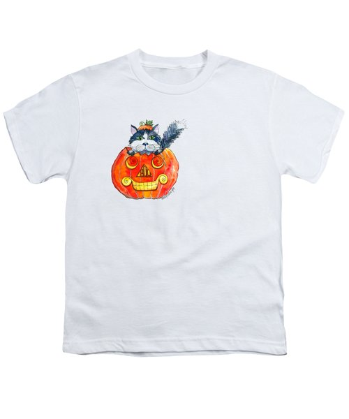 Boo Youth T-Shirt by Shelley Wallace Ylst