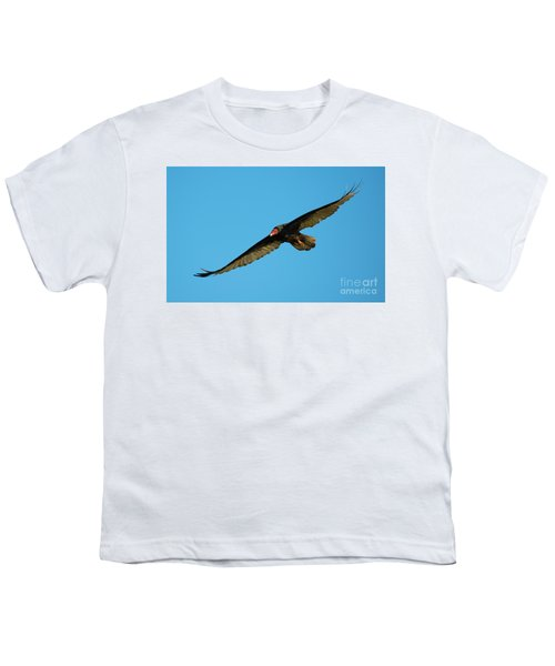Buzzard Circling Youth T-Shirt by Mike Dawson