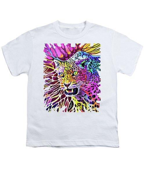 Cat Beauty Youth T-Shirt by Anthony Mwangi