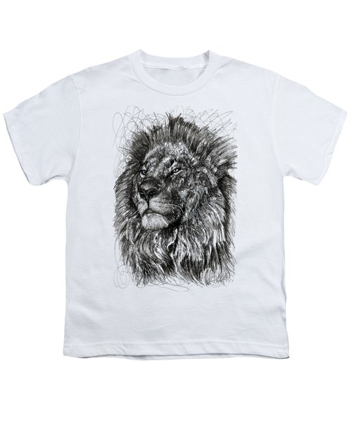 Cecil The Lion Youth T-Shirt by Michael  Volpicelli