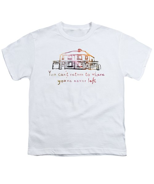 Cedarwood House Youth T-Shirt by Clad63