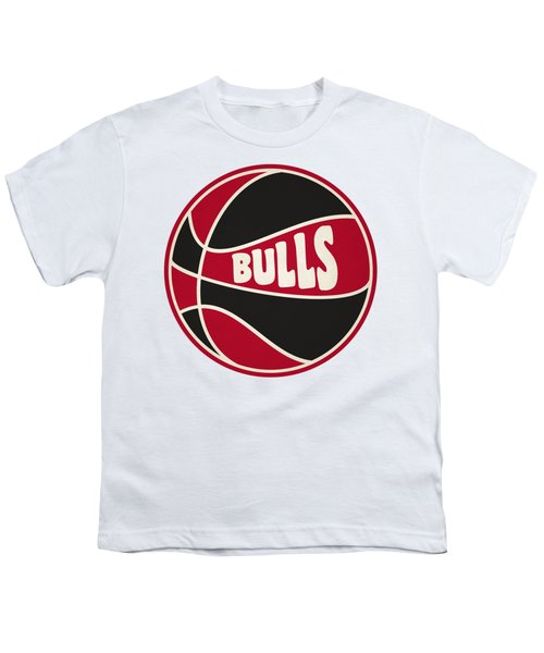 Chicago Bulls Retro Shirt Youth T-Shirt by Joe Hamilton