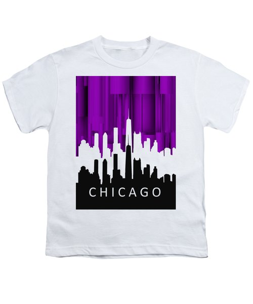 Chicago Violet In Negative Youth T-Shirt by Alberto RuiZ