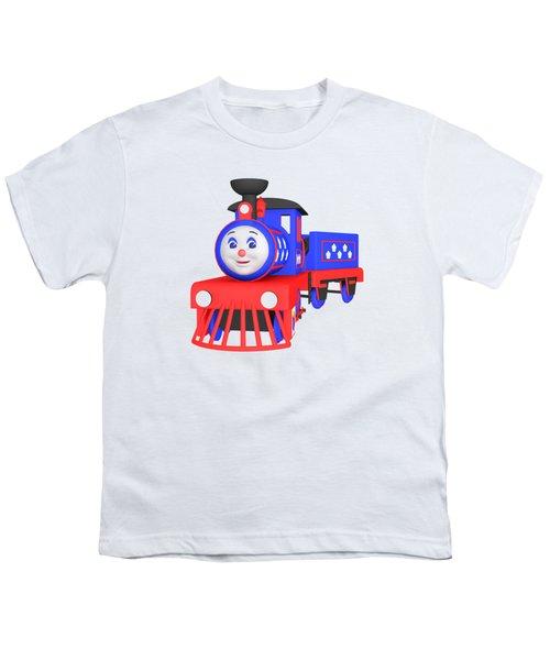 Choo-choo The Train - 1 Youth T-Shirt by Yulia Litvinova