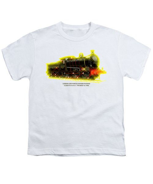 Classic British Steam Locomotive Youth T-Shirt by Aapshop