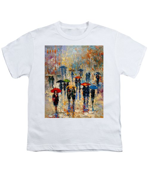Cloudy Day Youth T-Shirt by Andre Dluhos