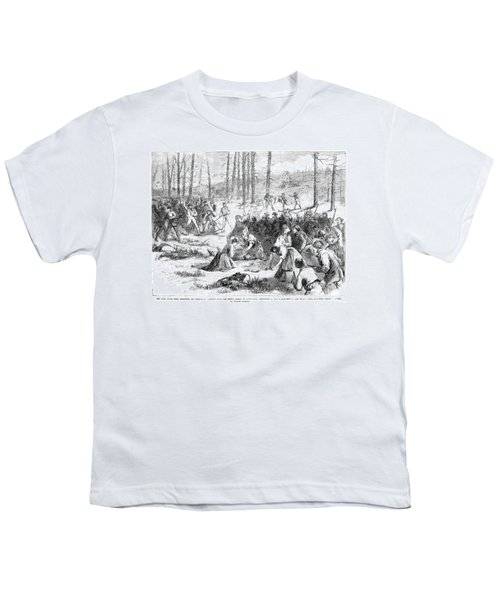 Coal Miner Strike, 1871 Youth T-Shirt by Granger