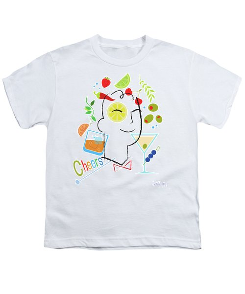 Cocktail Time Youth T-Shirt by Lisa Henderling
