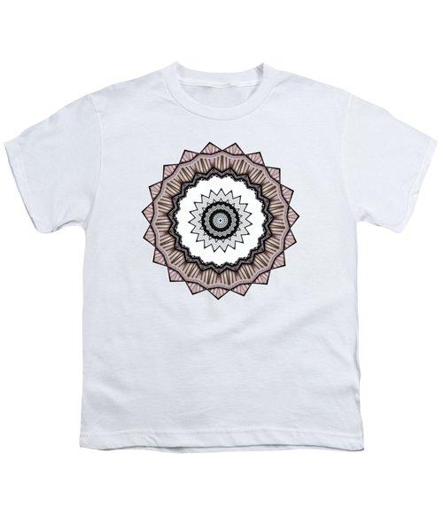 Construction Mandala By Kaye Menner Youth T-Shirt by Kaye Menner