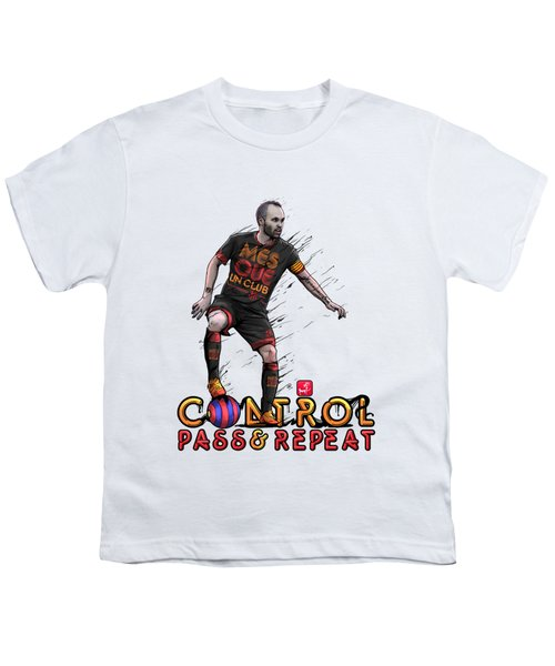 Control Pass And Repeat Youth T-Shirt by Akyanyme