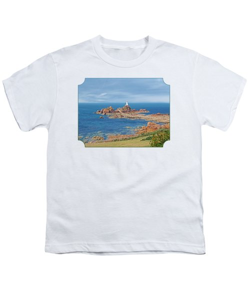 Corbiere Lighthouse Jersey Youth T-Shirt by Gill Billington