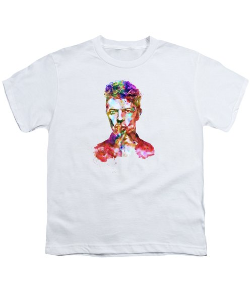 David Bowie  Youth T-Shirt by Marian Voicu