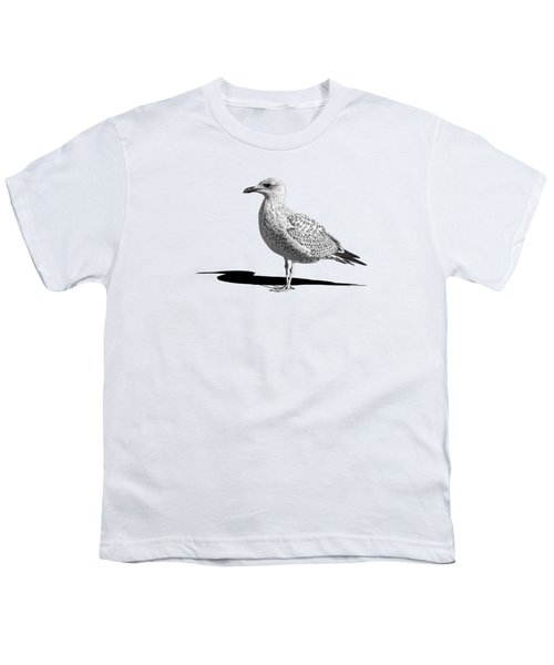Daydreaming In Black And White Youth T-Shirt by Gill Billington
