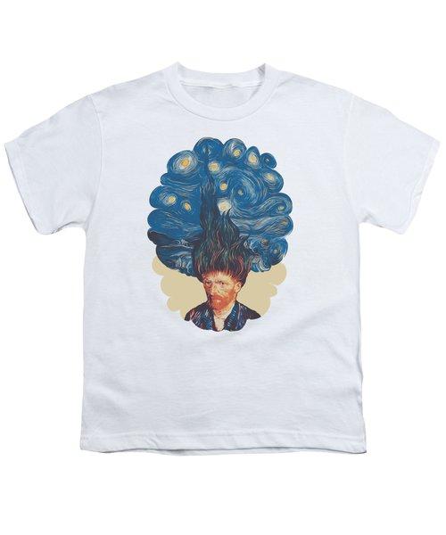 De Hairednacht Youth T-Shirt by Mustafa Akgul