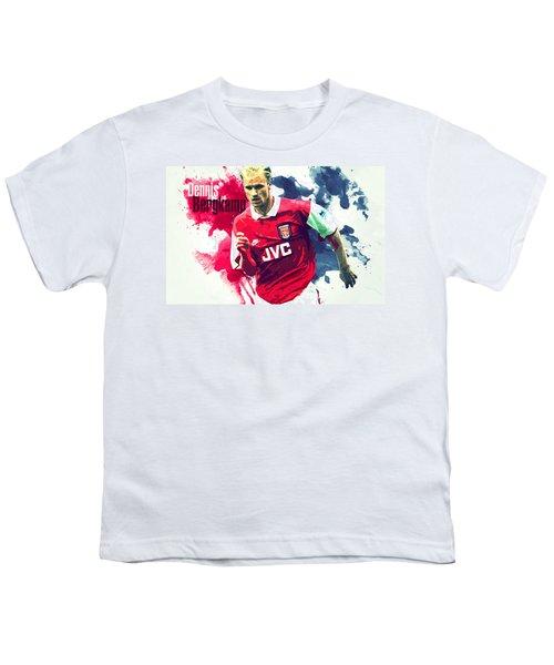 Dennis Bergkamp Youth T-Shirt by Semih Yurdabak