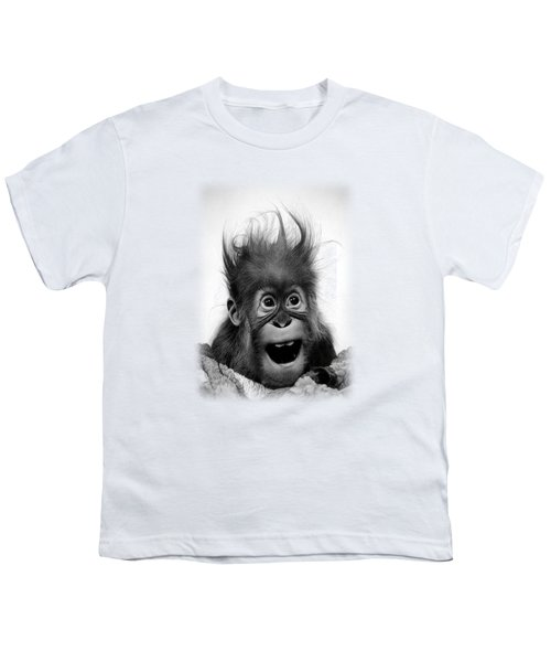 Don't Panic Youth T-Shirt by Miro Gradinscak