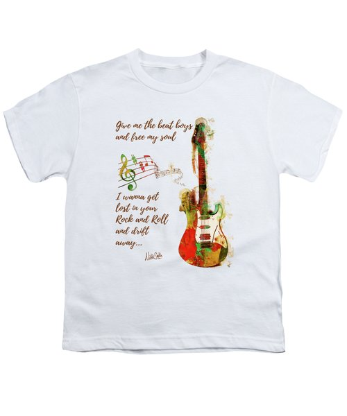 Drift Away Youth T-Shirt by Nikki Marie Smith