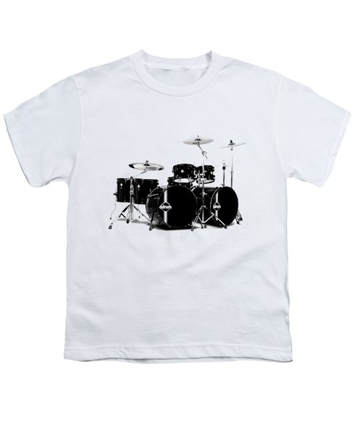 Drum Youth T-Shirt by David Balber