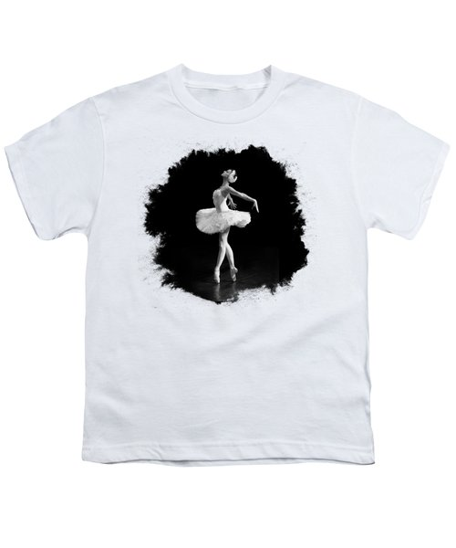 Dying Swan I T Shirt Customizable Youth T-Shirt by Clare Bambers