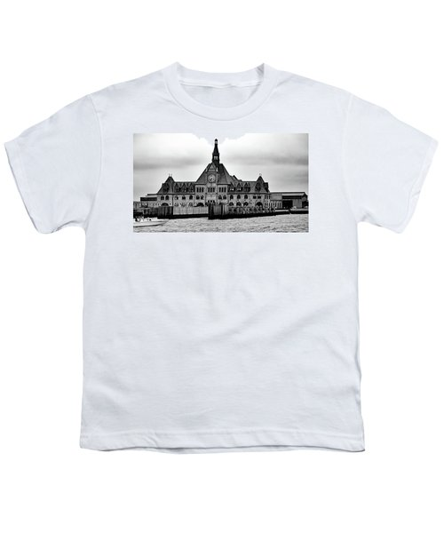 Ellis Island No. 49-3 Youth T-Shirt by Sandy Taylor