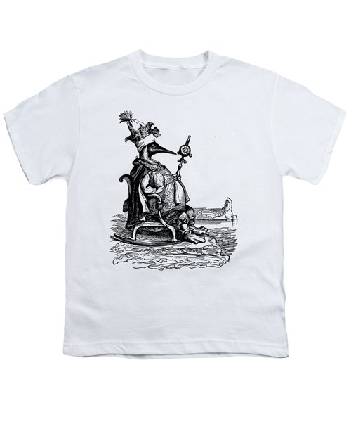 Empire Penguin Grandville Transparent Background Youth T-Shirt by Barbara St Jean