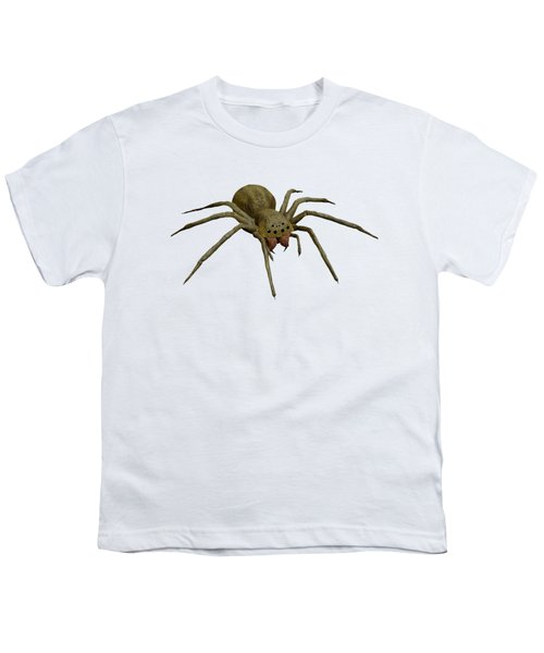Evil Spider Youth T-Shirt by Martin Capek
