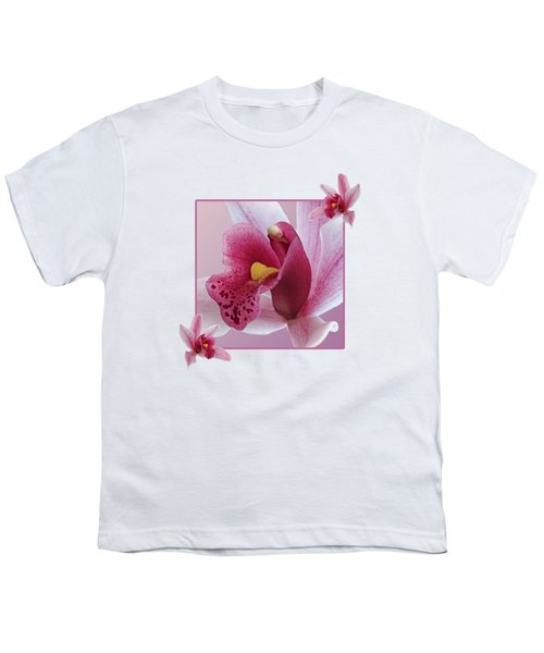 Exotic Temptation Youth T-Shirt by Gill Billington