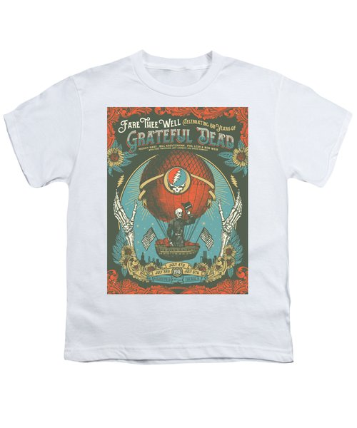 Fare Thee Well Youth T-Shirt by Gd