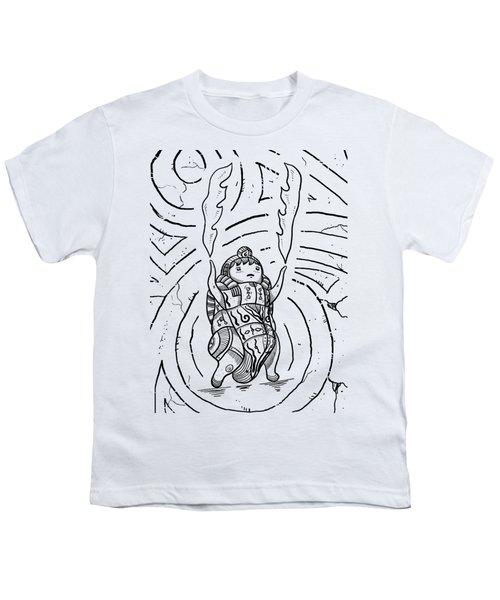 Firestarter Youth T-Shirt by Erki Schotter