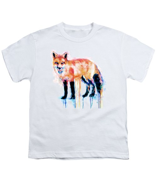 Fox  Youth T-Shirt by Marian Voicu